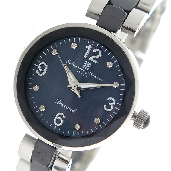 (~8/31) サルバトーレマーラ 腕時計 SALVATORE MARRA クオーツ 腕時計 SM17153-SSBKA SALVATORE ブラックシェル (~8/31) レディース, 大河内町:75e06888 --- officewill.xsrv.jp