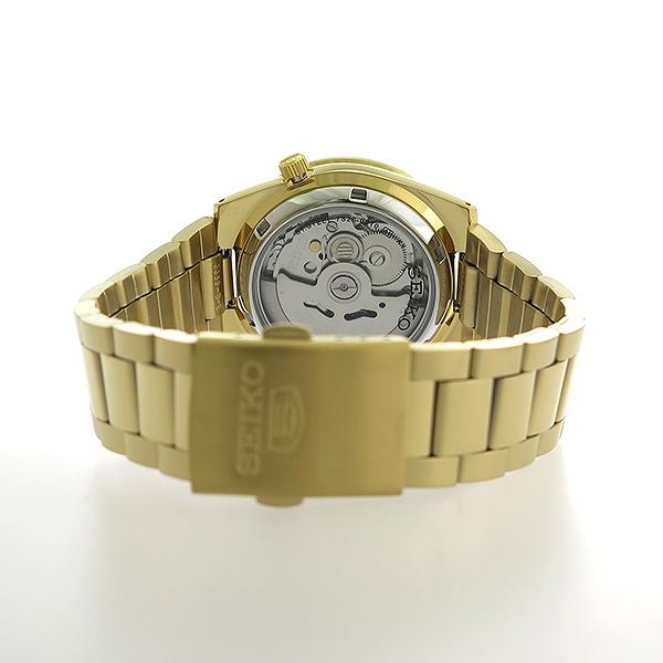 【お買い物マラソンxポイントアップ 】(~3/26 01:59) セイコー SEIKO セイコー5 SEIKO 5 自動巻き 腕時計 SNKE06K1 ゴールド メンズ