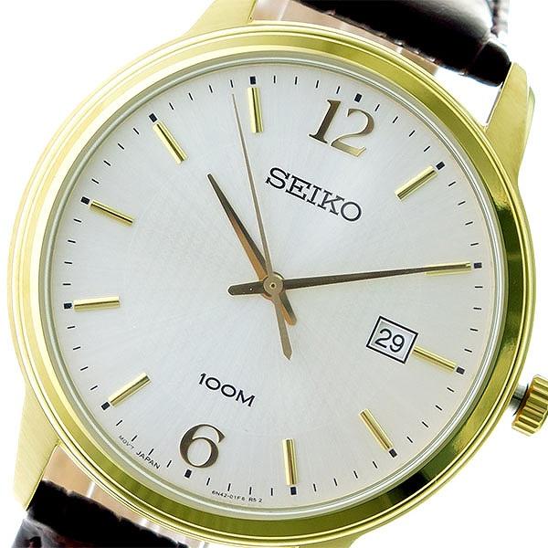 (~8/31) セイコー セイコー SEIKO クオーツ 腕時計 SUR266P1 SUR266P1 シルバー/ブラウン 腕時計 メンズ, 好きに:226d37d4 --- officewill.xsrv.jp