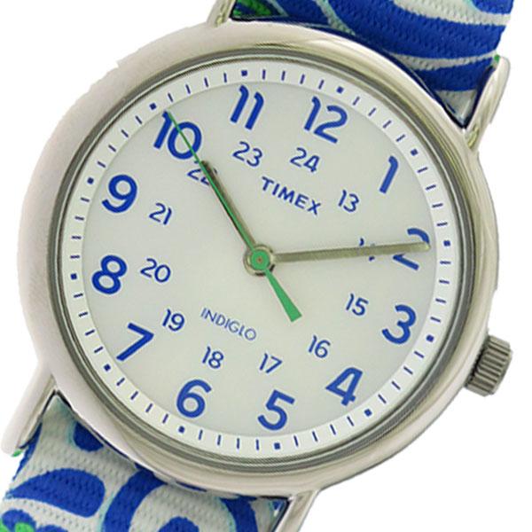 【お買い物マラソン】(4/9 20:00~4/16 01:59) 【ポイント2倍】(~4/30 23:59) タイメックス TIMEX クオーツ 腕時計 TW2P90300 ホワイト/マルチカラー レディース