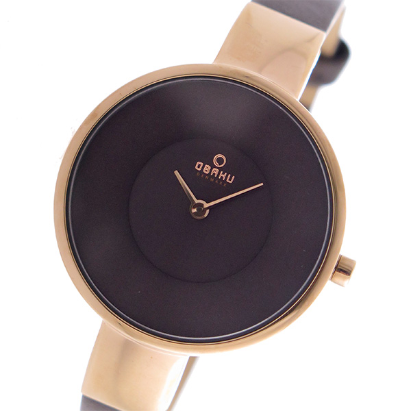 (~8/31) ユニセックス V149LXVNRN (~8/31) オバク OBAKU クオーツ 腕時計 V149LXVNRN ブラウン ユニセックス, ヤマグン:73b92a3a --- officewill.xsrv.jp