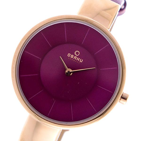 (~8/31) オバク オバク OBAKU クオーツ パープル 腕時計 V149LXVQRD OBAKU パープル レディース, タイヤ屋 来人喜人 上和田店:d0b2f639 --- officewill.xsrv.jp