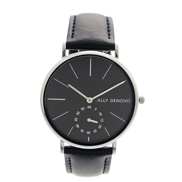 【ポイント2倍】(~4/30 23:59) アリーデノヴォ ALLY DENOVO 腕時計 36mm AF5001-3 HERITAGE SMALL クォーツ ブラック レディース