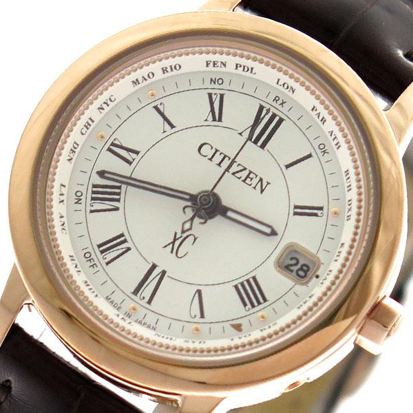 (~8/31) アイボリー シチズン CITIZEN 腕時計 EC1144-18C エコドライブ EcoDrive 腕時計 クォーツ レディース アイボリー ダークブラウン レディース【代引き不可】, 亘理町:d7c36fdf --- officewill.xsrv.jp