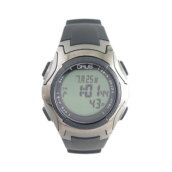 グルス GRUS 腕時計 GRS005-01 クォーツ ブラック ユニセックス