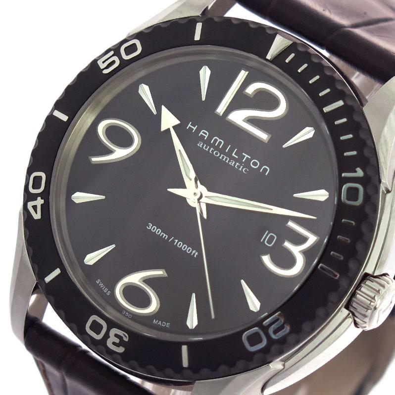 (~8/31) ハミルトン HAMILTON 腕時計 H37715535 自動巻き 腕時計 ブラック 自動巻き ダークブラウン (~8/31) メンズ【代引き不可】, 北海道麺SHOP 北の麺ぐるめ:26f2f88c --- officewill.xsrv.jp