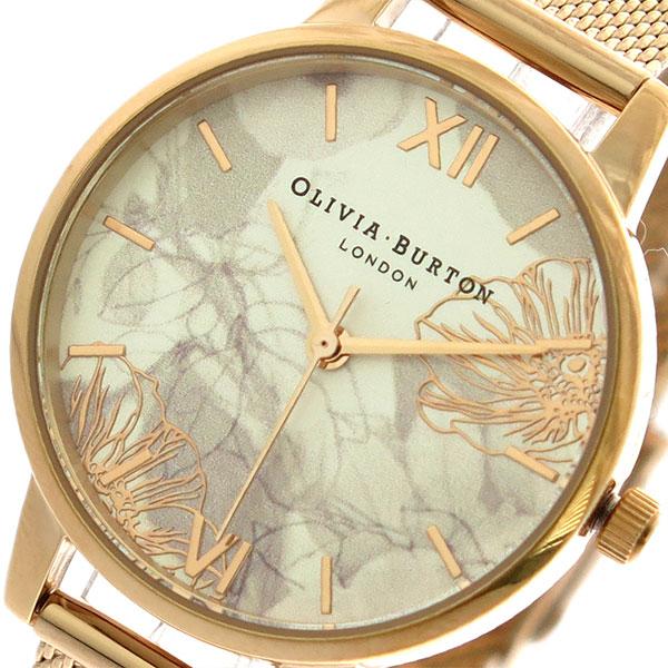 【スーパーSALE】(~9/11 01:59)(~9/30)オリビアバートン OLIVIA BURTON 腕時計 OB16VM11 クォーツ ピンクゴールド レディース