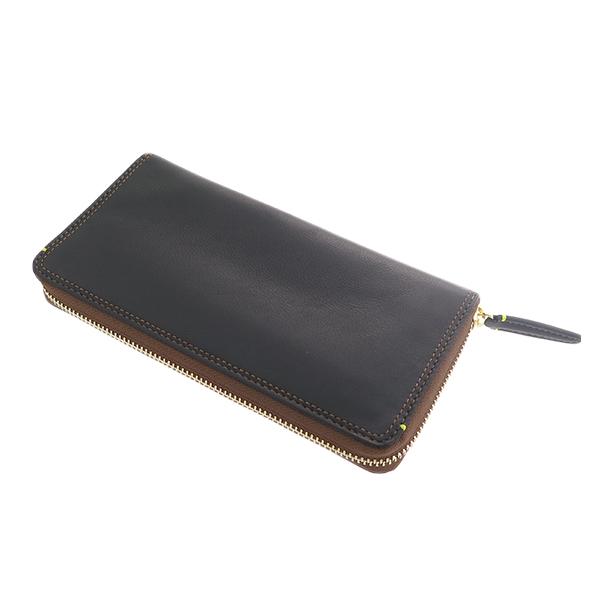 (~4/30 23:59) ペッペルコルン PEPPERCORN 長財布 PPC-1701-CA キャメル ブラック ユニセックス