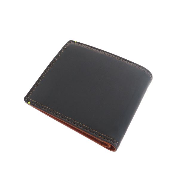 ペッペルコルンPEPPERCORN二つ折り財布PPC-1704-CAキャメルブラックユニセックス