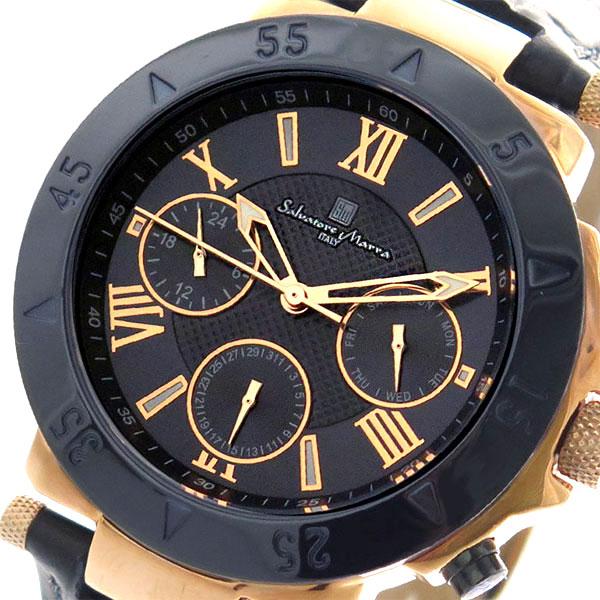 (~8/31) サルバトーレマーラ SALVATORE MARRA 腕時計 (~8/31) SM14118S-PGNV クォーツ SM14118S-PGNV クォーツ ダークネイビー メンズ, ココカル:1810198e --- officewill.xsrv.jp