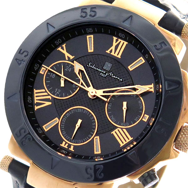 (~8 MARRA/31) メンズ サルバトーレマーラ SALVATORE MARRA 腕時計 SM14118S-PGNV クォーツ ダークネイビー SM14118S-PGNV メンズ, 書道用品の筆匠庵:e2bb5de0 --- officewill.xsrv.jp