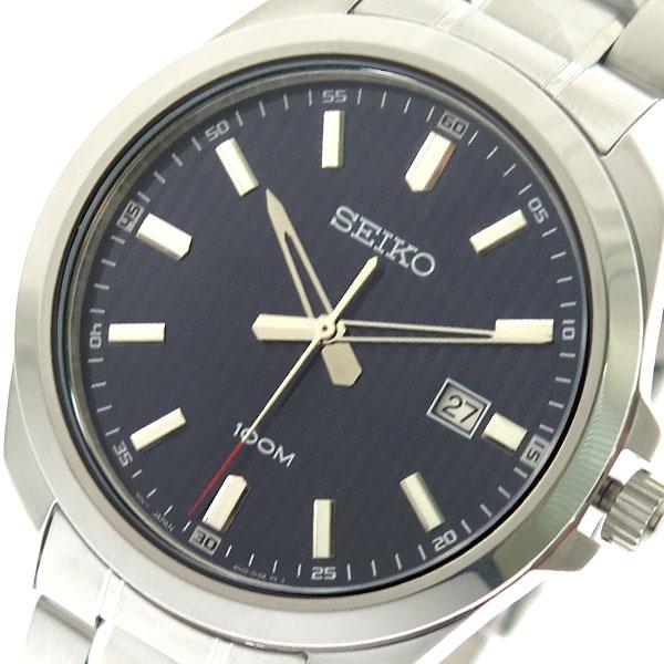 (~8/31) セイコー セイコー シルバー SEIKO 腕時計 (~8/31) SUR275P1 クォーツ ネイビー シルバー メンズ, 農家の米:108bd9ad --- officewill.xsrv.jp
