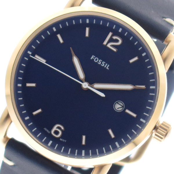 (~8/31) フォッシル FOSSIL 腕時計 (~8/31) FS5274 FS5274 クォーツ ネイビーユニセックス, TROIKA Design Store:a26f895e --- officewill.xsrv.jp