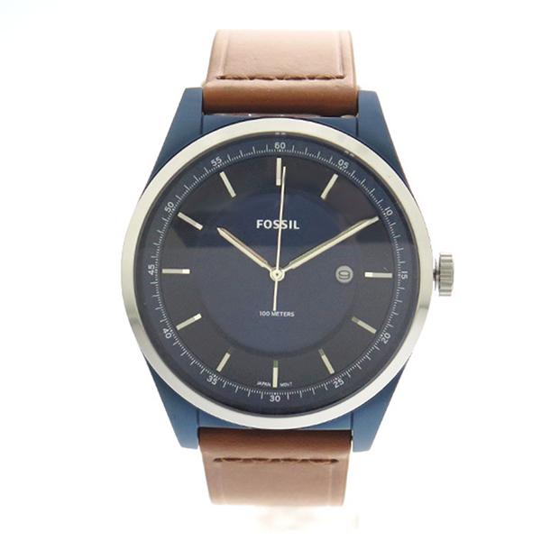 【お買い物マラソンxポイントアップ 】(~3/26 01:59) フォッシル FOSSIL 腕時計 FS5422 クォーツ ネイビー ブラウン メンズ