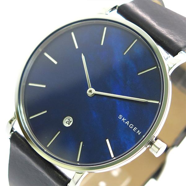 (~8/31) スカーゲン SKAGEN メンズ 腕時計 SKW6471 腕時計 SKW6471 クォーツ ネイビーシェル ブラック メンズ, beauty2010(ビューティ2010):902b920f --- officewill.xsrv.jp