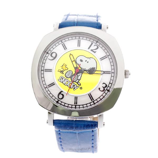 【お買い物マラソンxポイントアップ】(~4/26 01:59) 【ポイント10倍】(~4/30 23:59) ピーナッツ PEANUTS スヌーピー 腕時計 SN1280E SNOOPY クォーツ ホワイト ゴールド ブルー 国内正規 ユニセックス