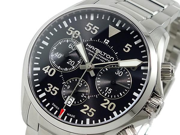 (~8 パイロット/31) ハミルトン HAMILTON カーキ カーキ パイロット クロノグラフ 自動巻 腕時計 自動巻 H64666135 メンズ【代引き不可】, イキトガレージ:39dd31dc --- officewill.xsrv.jp