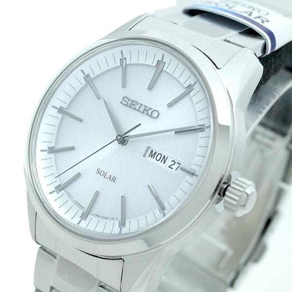 (~8 メンズ/31) セイコー SEIKO 腕時計 SNE523P1 SEIKO SEIKO SOLAR SOLAR クォーツ シルバー メンズ, カワバムラ:17d75c04 --- officewill.xsrv.jp