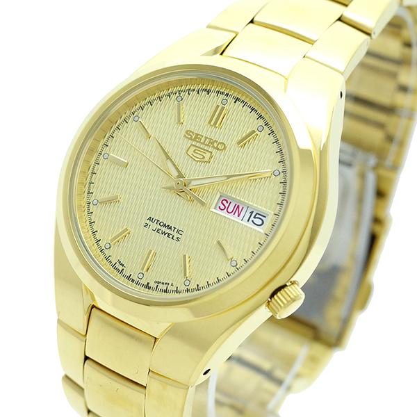(~8/31) セイコー SEIKO (~8/31) 腕時計 SNK610K1 自動巻き SEIKO5 自動巻き ゴールド SNK610K1 メンズ, 常呂郡:0e736d2d --- officewill.xsrv.jp