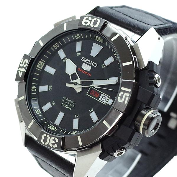 【スーパーSALE】(~9/11 01:59)(~9/30)セイコー SEIKO 腕時計 SRP799K1 SEIKO5 自動巻き ブラック メンズ