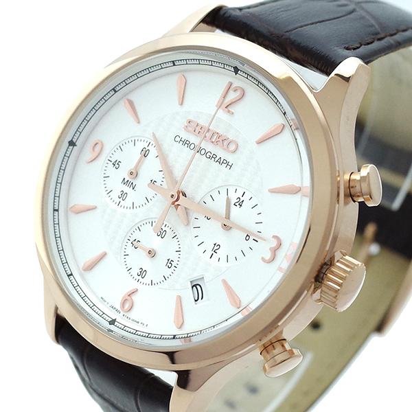 (~8/31) (~8/31) セイコー ホワイト SEIKO 腕時計 SSB342P1 クォーツ ホワイト ブラウン メンズ メンズ, タイヤホイール カンパニー:8e61bdc8 --- officewill.xsrv.jp