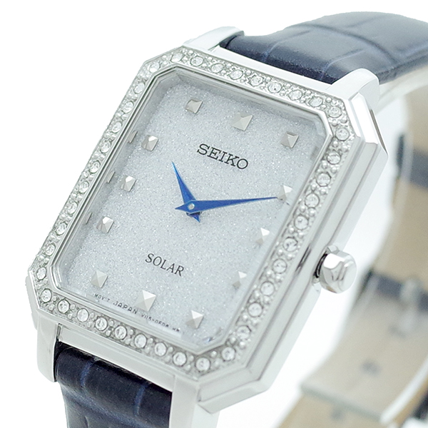 (~8/31) セイコー SEIKO SEIKO SUP429P1 ネイビー 腕時計 SUP429P1 SEIKO SOLAR クォーツ ラメホワイト ネイビー レディース, ラッキープライス:a8f083c1 --- officewill.xsrv.jp