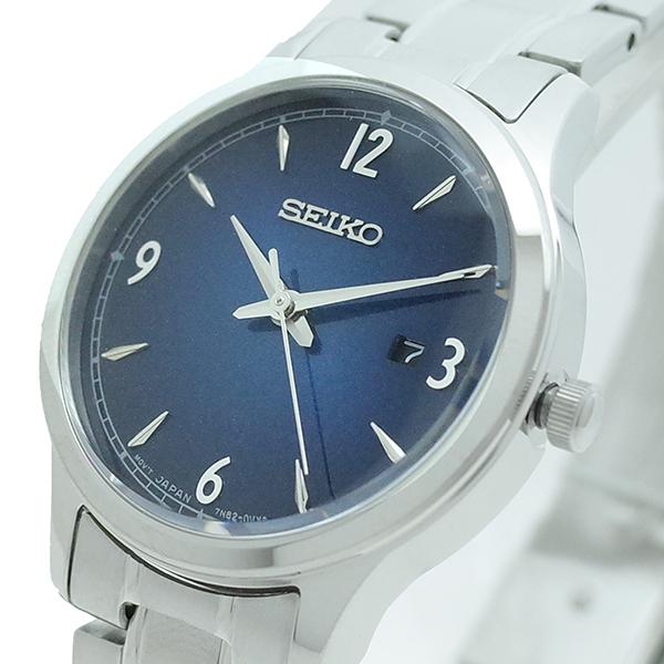 (~8/31) セイコー シルバー SEIKO SEIKO 腕時計 SXDG99P1 レディース クォーツ ネイビー シルバー レディース, 三陸山田 びはん:62caf45b --- officewill.xsrv.jp