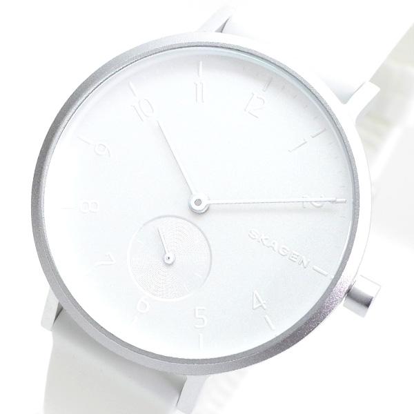 (~8/31) シルバー スカーゲン AAREN SKAGEN スカーゲン 腕時計 SKW2763 AAREN クォーツ シルバー ホワイト ユニセックス, ウェアプリントのGrafit:d3a34acd --- officewill.xsrv.jp