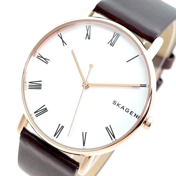 (~8/31) ホワイト スカーゲン SKAGEN スカーゲン 腕時計 SKW6493 SIGNATUR 腕時計 クォーツ ホワイト ブラウン メンズ, シチカシュクマチ:16ebf272 --- officewill.xsrv.jp