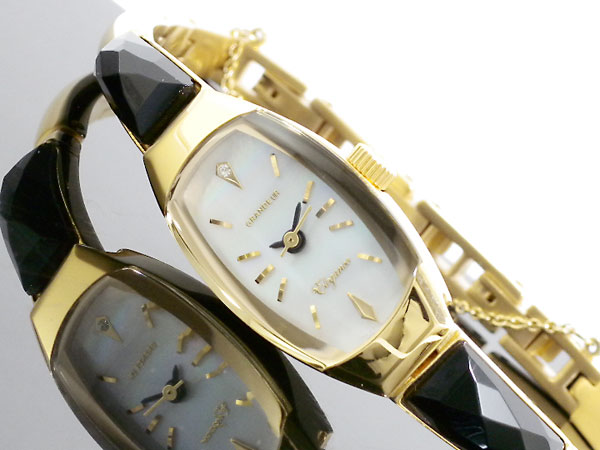 (~8 腕時計/31) グランドール GRANDEUR グランドール レディース バングルタイプ 腕時計 ESD011GO レディース, ベストコーヒー通販:7e5f2b62 --- officewill.xsrv.jp