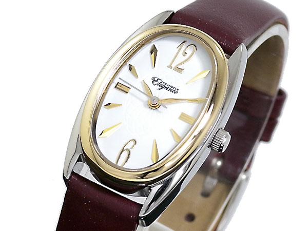 【大感謝祭】(~12/26 01:59)(~12/25)【キャッシュレス5%】グランドール GRANDEUR 腕時計 ESL041W6 レディース