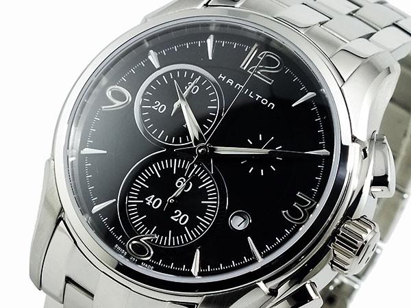(~8/31) ハミルトン HAMILTON ジャズマスター クオーツ メンズ クロノグラフ 腕時計 H32612135 【代引き不可】
