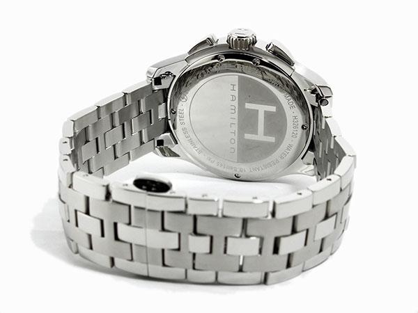 【エントリー&3,000円以上でポイント3倍】(~8/24)【ポイント2倍】(~8/31) ハミルトン HAMILTON ジャズマスター クオーツ メンズ クロノグラフ 腕時計 H32612135 【代引き不可】
