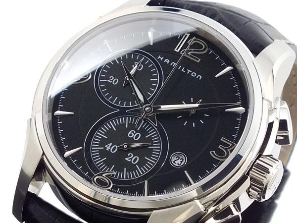 【スーパーSALExポイントアップ】(3/4 20:00~3/11 01:59)【ポイント2倍】(~3/31)【キャッシュレス5%】ハミルトン HAMILTON ジャズマスター クロノグラフ 腕時計 H32612735 メンズ 【き】