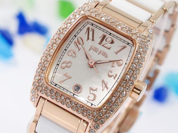 (~8 腕時計/31) レディース フォリフォリ FOLLI FOLLIE (~8/31) 腕時計 WF5R135BDS レディース, 愛される明月堂の博多通りもん:dac5ea03 --- officewill.xsrv.jp
