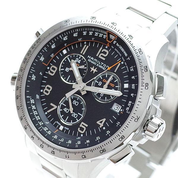 (~8 カーキ/31) HAMILTON ハミルトン HAMILTON 腕時計 H77912135 カーキ アビエーション X-ウィンド H77912135 クォーツ ブラック シルバー メンズ【代引き不可】, TOOLINGNET:6ef9e76c --- officewill.xsrv.jp
