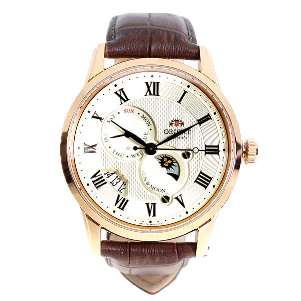 (~8/31) オリエント ORIENT ORIENT SAK00001Y0 腕時計 SAK00001Y0 自動巻き オフホワイト ブラウン ブラウン メンズ, シオカワマチ:de8a7202 --- officewill.xsrv.jp