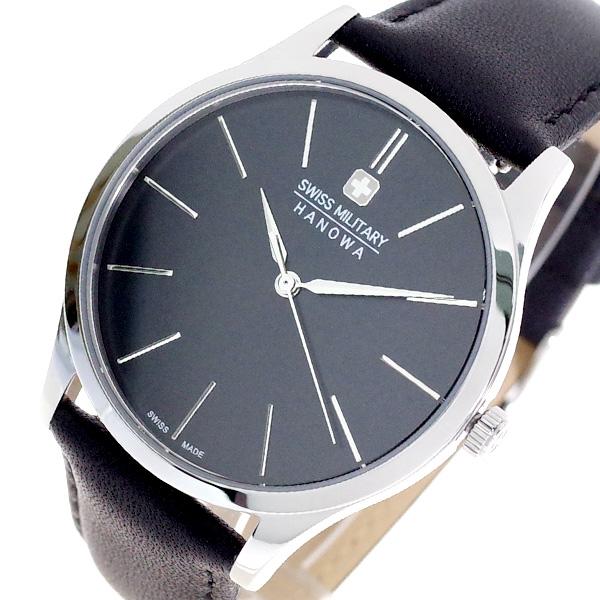 (~8/31) スイスミリタリー ブラック SWISS MILITARY 腕時計 ML-411 クォーツ (~8/31) ブラック メンズ メンズ, トイブリッツ:a164ceb4 --- officewill.xsrv.jp