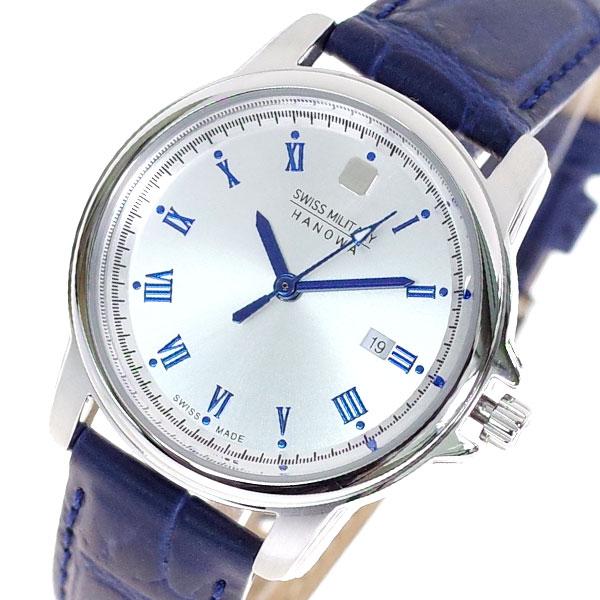 (~8/31) MILITARY スイスミリタリー メンズ SWISS シルバー MILITARY 腕時計 ML-382 クォーツ シルバー ブルー メンズ, 京はやしや:622df367 --- officewill.xsrv.jp