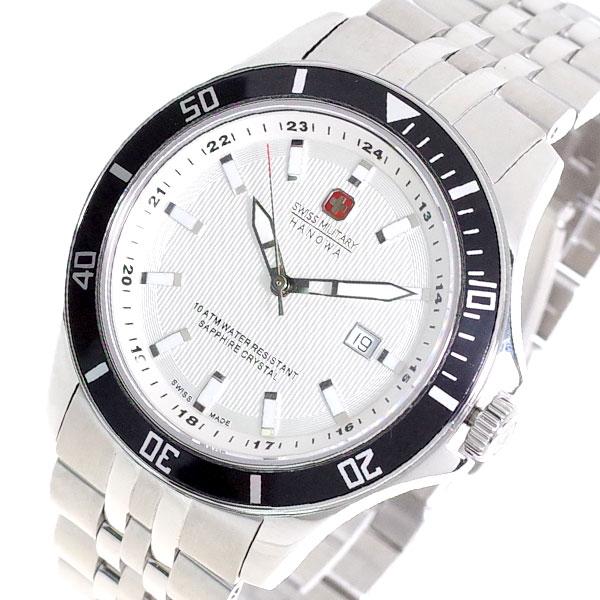 (~8/31) ML-319 スイスミリタリー SWISS MILITARY 腕時計 ML-319 腕時計 クォーツ (~8/31) オフホワイト シルバー メンズ, ニマグン:858d7e44 --- officewill.xsrv.jp