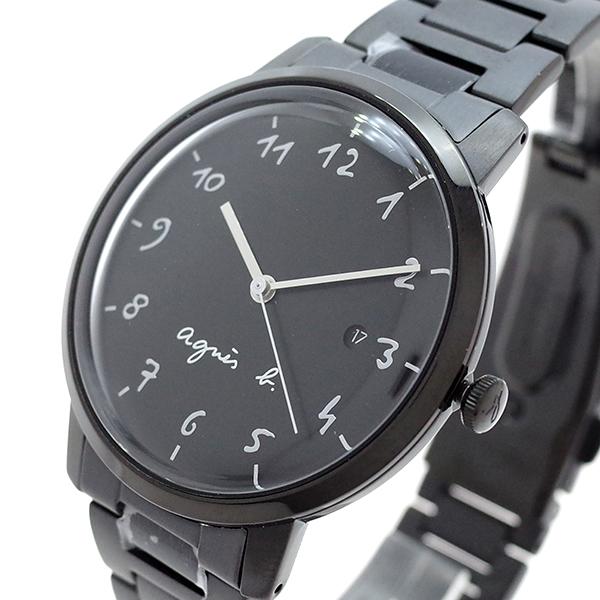 (~8/31) アニエスベー AGNS ブラック B 腕時計 BG8008X1 クォーツ (~8/31) ブラック BG8008X1 メンズ, ミトマン:b325f6fa --- officewill.xsrv.jp