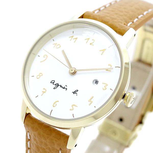 (~8/31) ホワイト アニエスベー AGNS (~8/31) ライトブラウン B 腕時計 BH7018X1 クォーツ ホワイト ライトブラウン レディース, ユウトウチョウ:6f58148f --- officewill.xsrv.jp