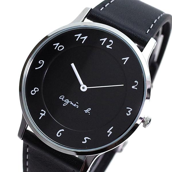 (~8 AGNS/31) アニエスベー (~8/31) AGNS B 腕時計 BJ5005X1 クォーツ ブラック クォーツ メンズ, アットネットサービス2nd:cbd21dd1 --- officewill.xsrv.jp
