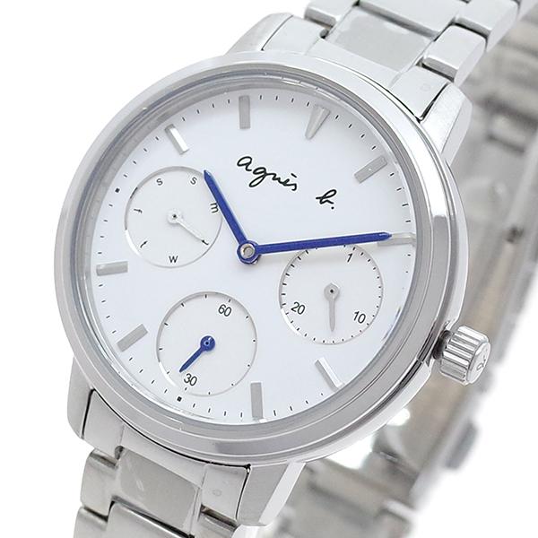 (~8/31) アニエスベー AGNS B 腕時計 腕時計 BP6019X1 AGNS クォーツ ホワイト レディース シルバー レディース, 東京デリカオンライン:d7860e51 --- officewill.xsrv.jp
