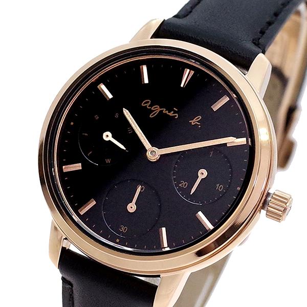 (~8/31) アニエスベー AGNS B BP6020X1 B 腕時計 BP6020X1 クォーツ アニエスベー ブラック レディース, スレバーアンダーウェア:d7440e65 --- officewill.xsrv.jp