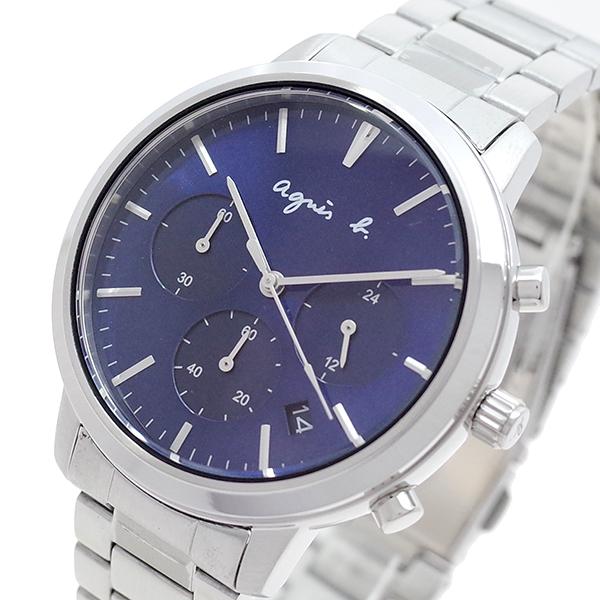 (~8/31) アニエスベー AGNS B 腕時計 BT3034X1 腕時計 ネイビー クォーツ BT3034X1 ネイビー シルバー メンズ, シバタシ:4b744afd --- officewill.xsrv.jp