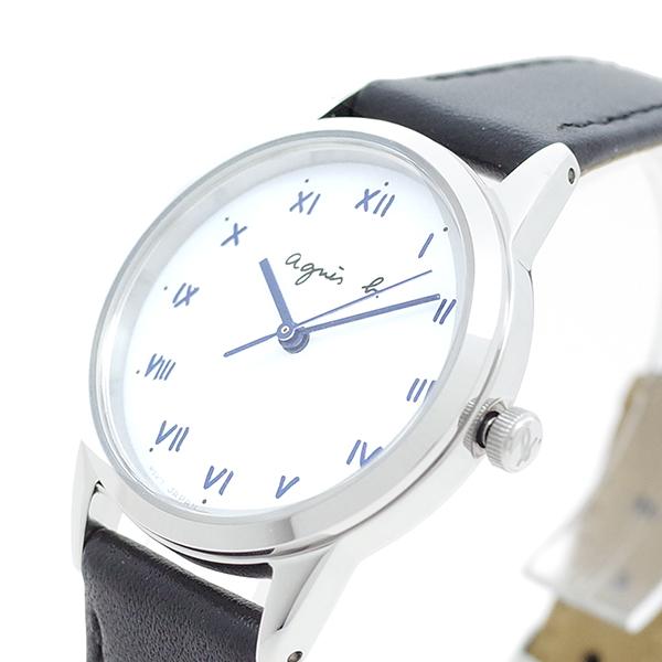 (~8 (~8/31)/31) アニエスベー AGNS AGNS B ブラック 腕時計 BU9030P1 クォーツ ホワイト ブラック レディース, スカーフ専科:bece5c61 --- officewill.xsrv.jp