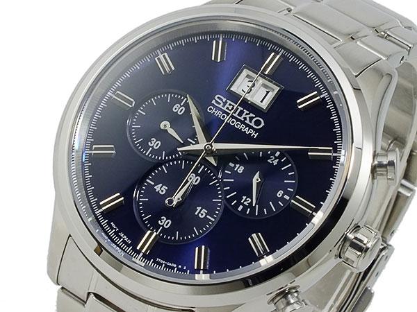 (~4/30)【キャッシュレス5%】セイコー SEIKO クロノグラフ 腕時計 SPC081P1 メンズ