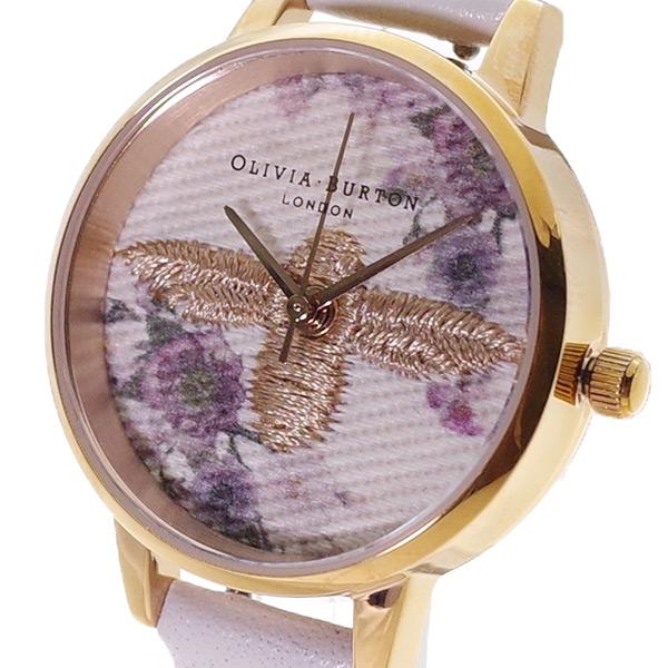 【スーパーSALE】(~9/11 01:59)(~9/30)オリビアバートン OLIVIA BURTON 腕時計 OB16EM06 クォーツ ベージュ オフホワイト レディース