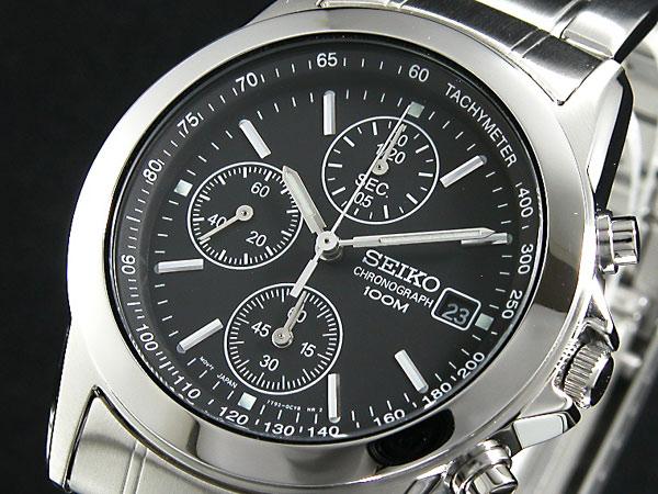 【スーパーSALE】(~9/11 01:59)(~9/30)セイコー SEIKO クロノグラフ 腕時計 SND309 メンズ